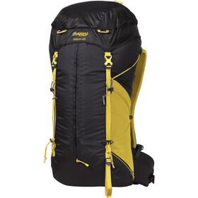 Bergans Helium 40 Sac à dos, solid charcoal/waxed yellow